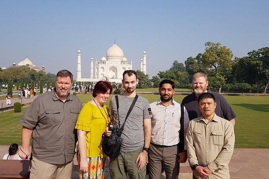 Privat Taj Mahal Sunrise og Agra Fort...