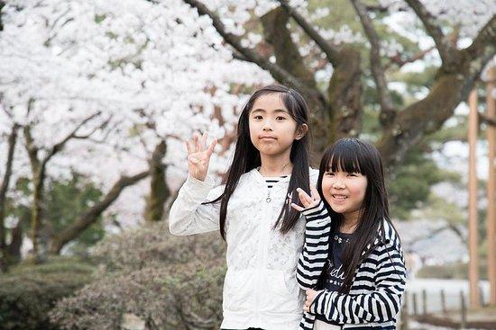 Familiedag i Yokohama med en lokal: privat og personlig