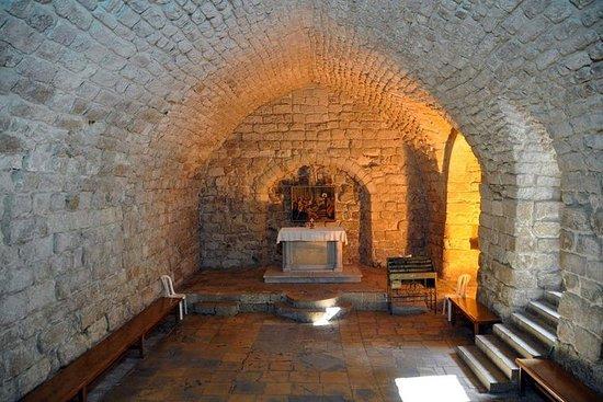 Nazaret, Tiberíades y el mar de Galilea.