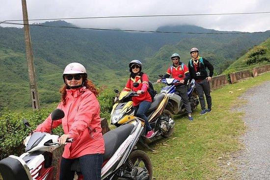 Excursion d'une journée en moto à Sapa