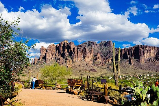 Small Group or Private Apache Trail Day Tour with Dolly Steamboat...