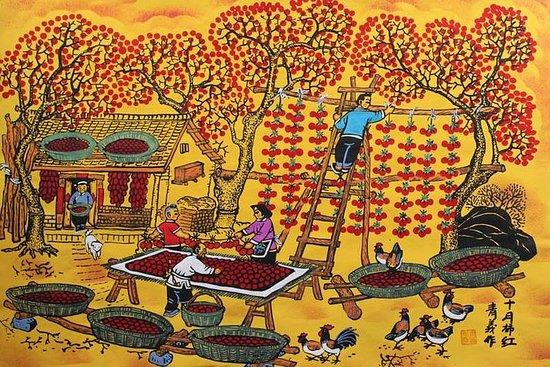 西安からのオールインクルーシブHuxian日帰りツアー:地元の農家との料理とペイ…