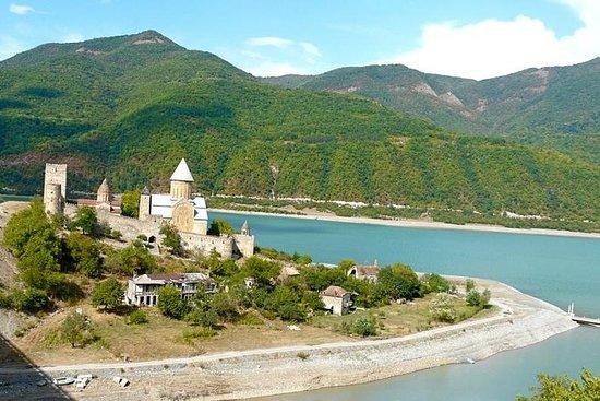 Excursão Ananuri-Gudauri-Kazbegi