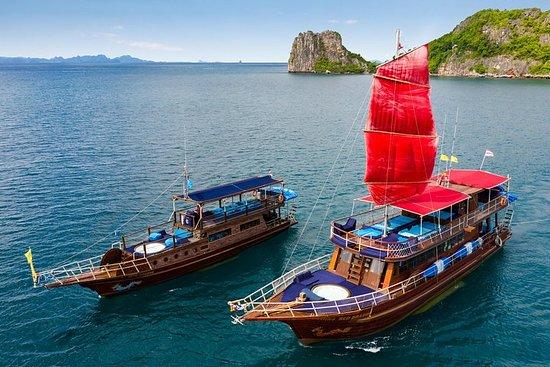 Klassische thailändische Yachten...