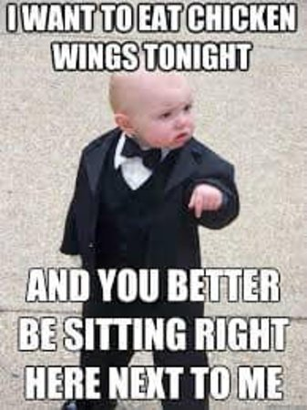 WINGS NIGHT ---N 50 CENTS WING