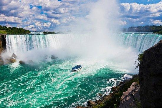 Tour del lato canadese delle cascate