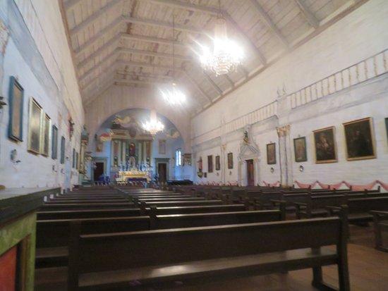 Inside of Old Mission San Jose, Fremont, Ca