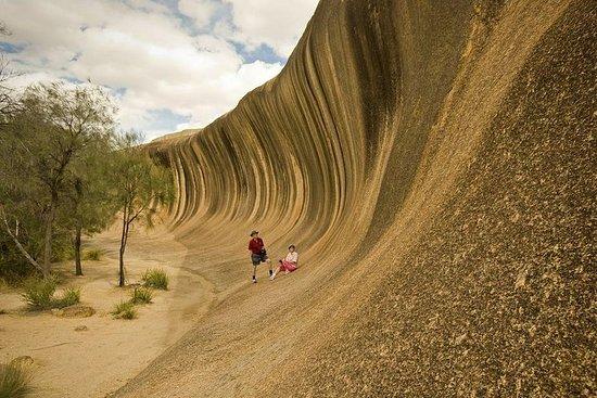 Wave Rock, York, Wildflowers e tour culturale aborigeno da Perth