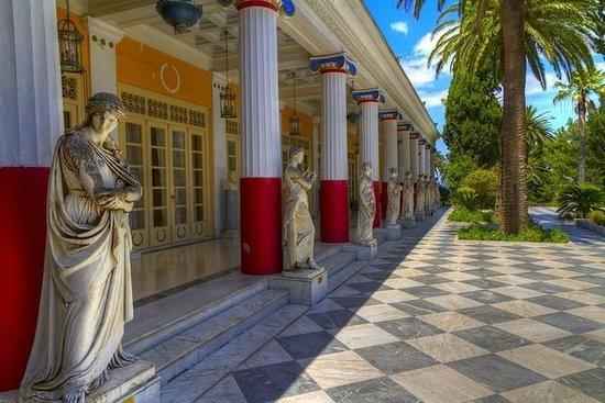 Achillion Paleokastritsa Corfu私人之旅