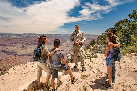 Grand Canyon South Rim vid Tour Trekker