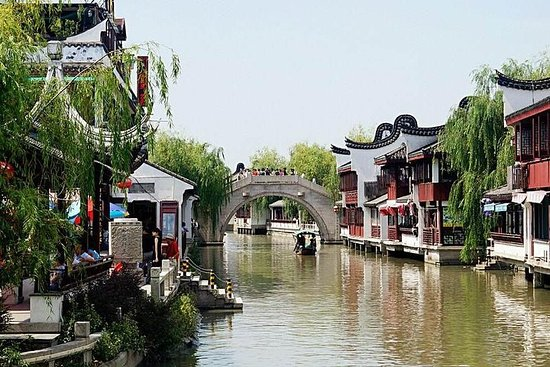 Zdjęcie Half Day Private Tour to Zhaojialou Ancient Town with Lunch and Boat Ride