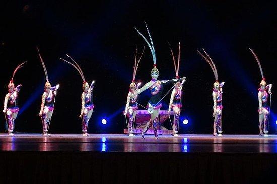 鼎泰豐晚宴體驗與上海雜技表演