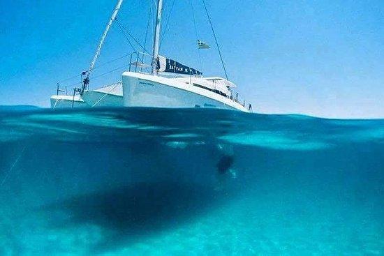 Santorini Private Sunset Catamaran...