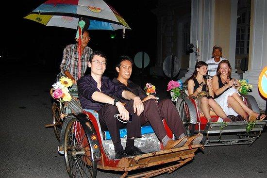 תמונה מPenang Night Tour with The TOP Admission Tickets & Trishaw Ride
