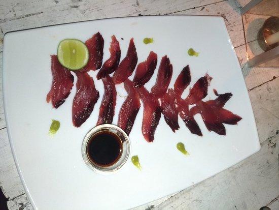 Kuma Seafood Restaurant: Сашимииз тунца