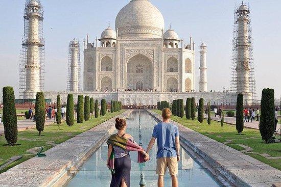 Ganztägige Taj Mahal & Agra Tour ab...