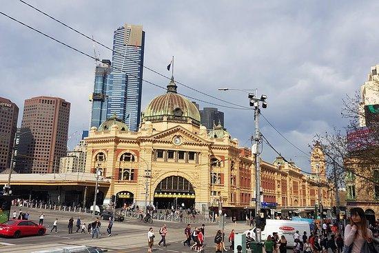Melbourne sightseeing en geluiden ...