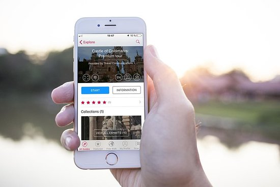 Castle of Colomares: self-guided audio tour with izi.TRAVEL App...
