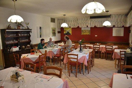Mittagessen in drei Ländern von Piran...