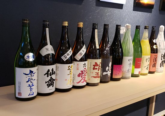 There are many kinds of sake. You can try tasting sake within a limited time. It is all you can drink.