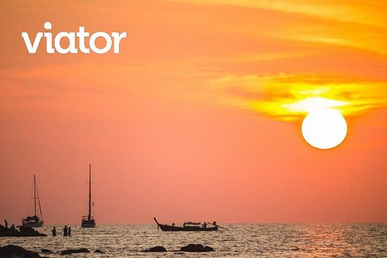 Solnedgang privat speedbåd Phi Phi øer