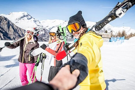 FULDAG Skidåkning och snowboard Liten ...