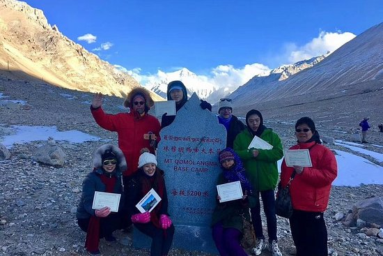 7-Night Lhasa to Everest Base Camp...