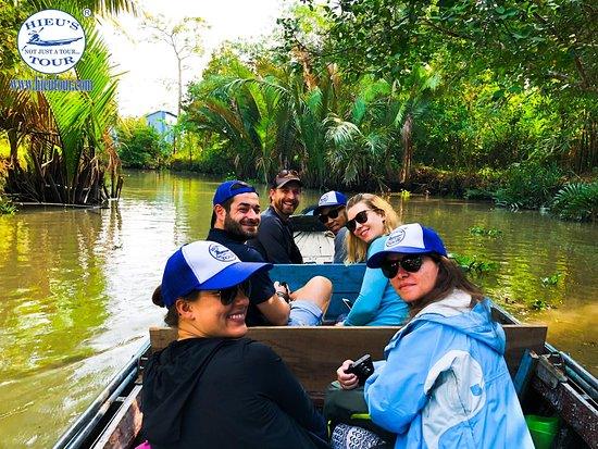 Can Tho River Tour with amazing canals