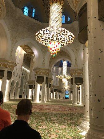 Väldigt vackert och annorlunda. Första gången jag var i en Moske.