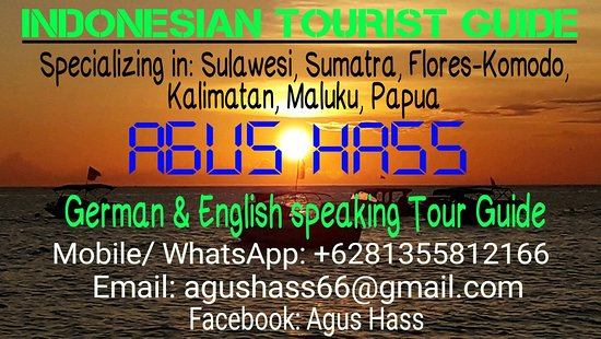 South Sulawesi, Indonésie: I'm working as a german and english tour guide for all over Indonesian area