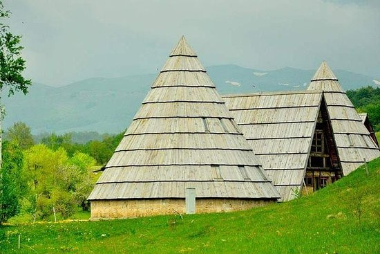 Parc national de Durmitor au départ...