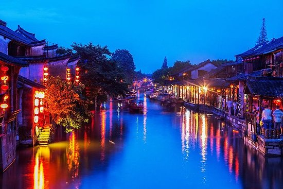 Xitang Water Village Sunset Tour med...