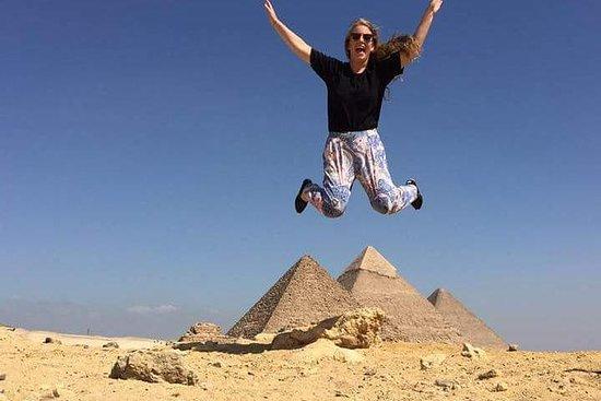 Pyramides de Gizeh, pyramide courbée...