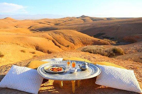 Woestijn Agafay en Atlasgebergte ...