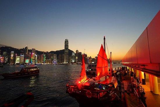 Hong Kong Night Junk Cruise mit...