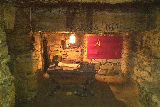 Catacombe Odessa Museo della Gloria Partigiana