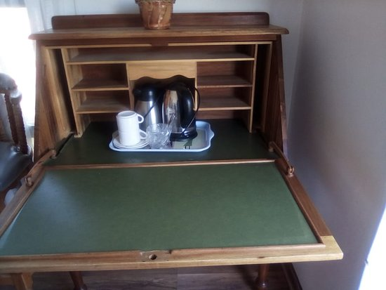 Wifi , fold away work station and tea/coffee amenities available in each room