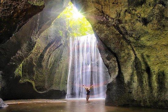 O melhor das cachoeiras de Bali...