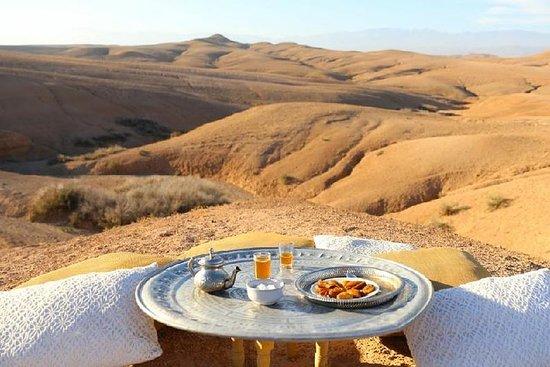 Desierto de Agafay y pueblos...