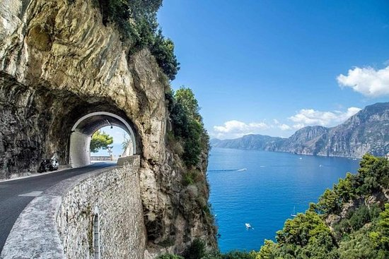 Tour privado da costa de Amalfi