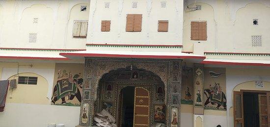 Samode, India: mini palace samod