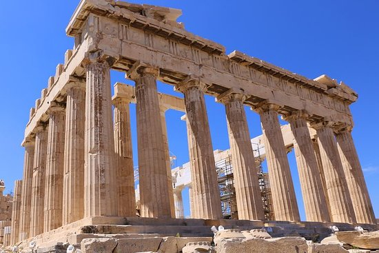 Tour privado de todo el día a Atenas