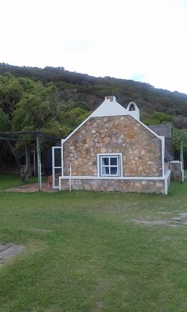 River Magic BackTrack cottage side view