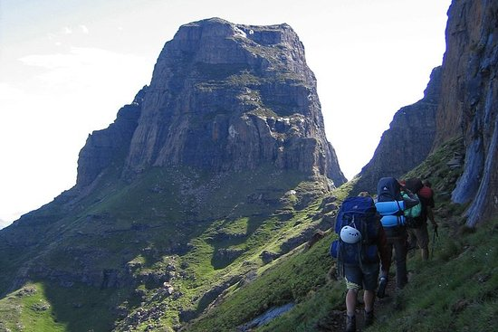 Drakensberg Amphitheater Day Hike - Tugela Falls and Chain Ladders...