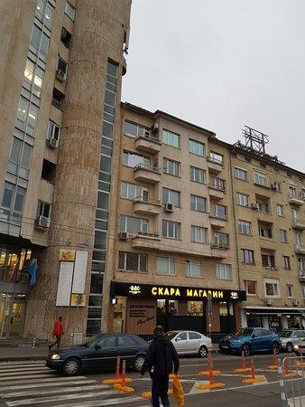Burger Bar in Sofia Center district