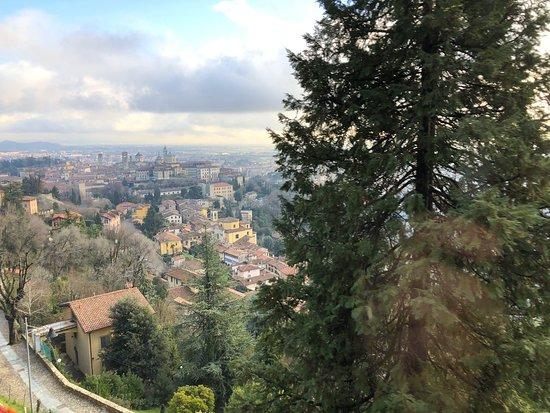 Bergamo, Italy: Funicolare di San Vigilio