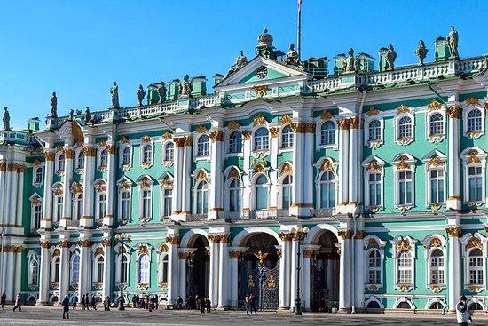 サンクト・ペテルブルグのエルミタージュ美術館を優先入場および夏季開館前入場で…
