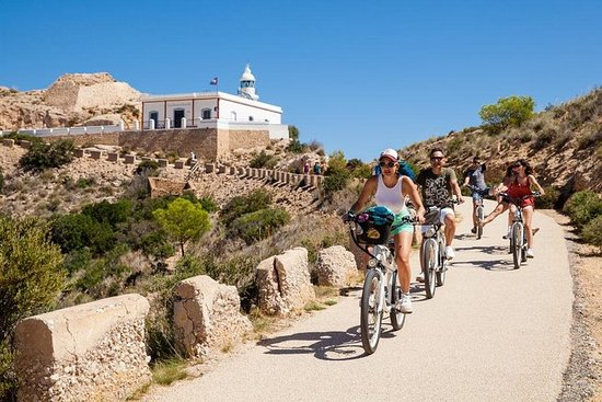 Benidorm excursion by electric bicycle. Complete Natural Park