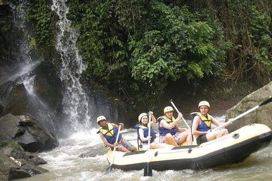Melangit River Rafting and Besakih...