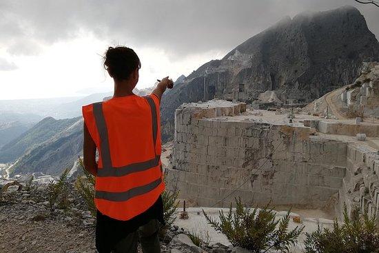 卡拉拉大理石採石場食物和雕塑